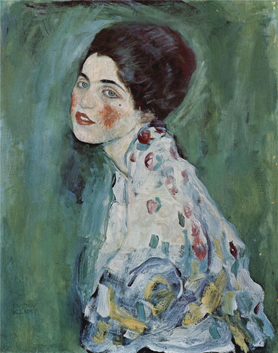 Portrait of a Lady, 1916/1917, Gustav Klimt